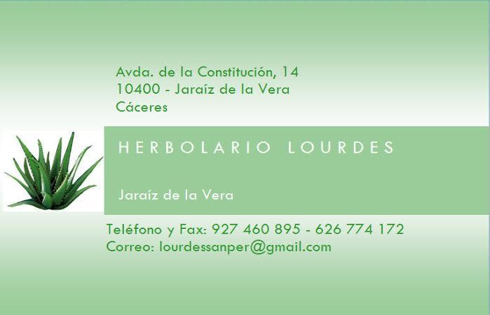 Herbolario Lourdes - Jaraíz de la Vera